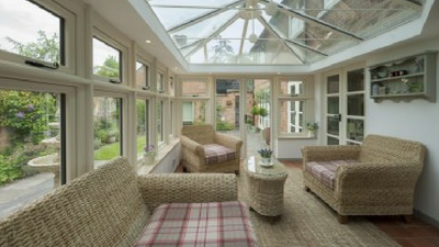 new conservatory St Austell Cornwall