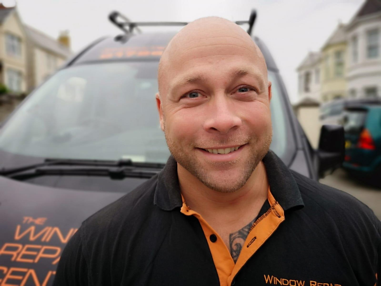 Adam at the Window Repair Centre Cornwall