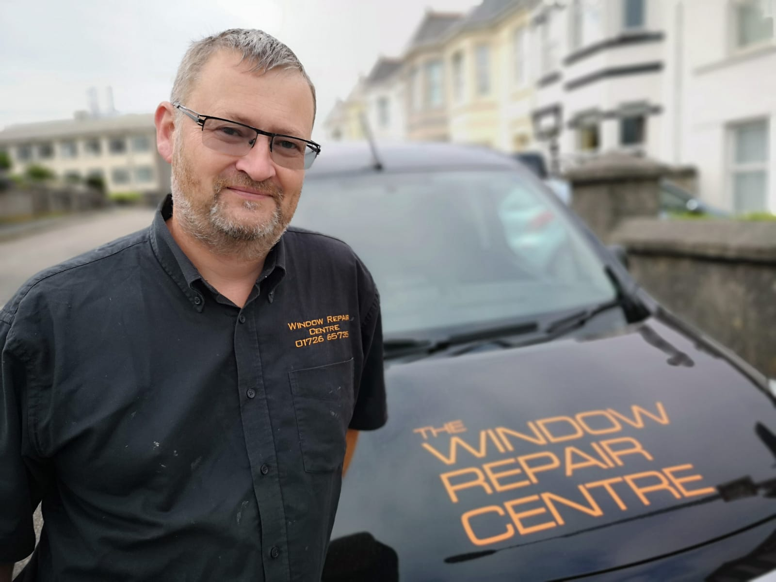 Gary at the Window Repair Centre Cornwall